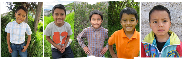 Gabriel, from 2015, 2013, 2010, 2009 and then all the way back to 2008 (left to right). Gabriel is sponsored by Christina Scalera LLC.